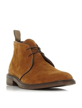 Bertie   Tan 'mogul Ii' Lace Up Chukka Boots by Bertie