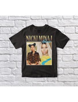 Nicki Minaj Black Tshirt  Limited Edition by Etsy