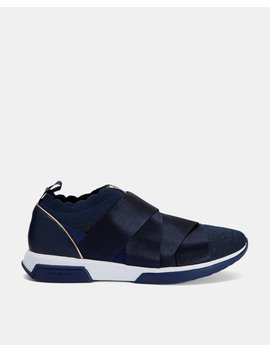 Elastic Strap Running Trainers by Ted Baker
