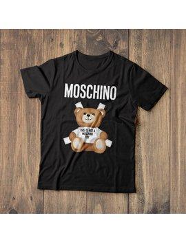 Moschino Shirt, Moschino Tshirt, G Moschino T Shirt, Moschino T Shirt, Fashion Shirt, Men's Gucci Shirt, Women's Designer Shirt, Gift Shirt by Etsy