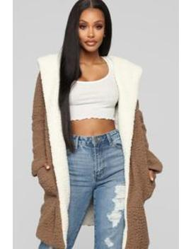 Leonora Jacket   Mocha by Fashion Nova