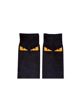 """Fendi Inspired Designer Socks """"Monster"""" Black by Etsy"""
