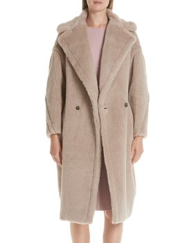 Ginnata Teddy Bear Icon Faux Fur Coat by Max Mara