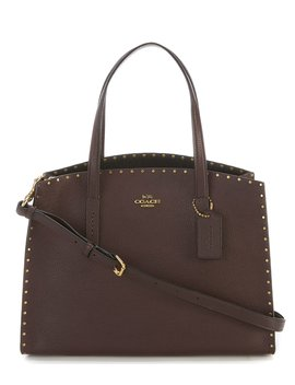 Coach Charlie Carryall With Rivets by Coach
