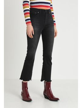 Cali Demi With Chewed Hem   Flared Jeans by Madewell