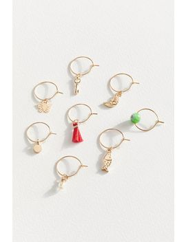 Amara Mixed Hoop Earring Set by Urban Outfitters