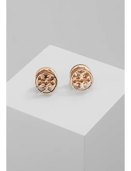 Logo Circle Earring   Oorbellen   Rose Gold by Tory Burch