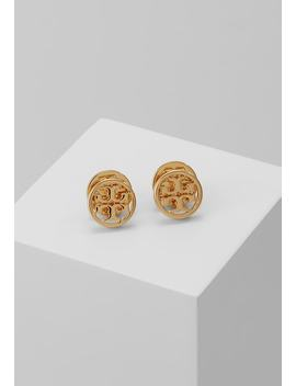 Logo Circle Earring   Oorbellen   Gold by Tory Burch
