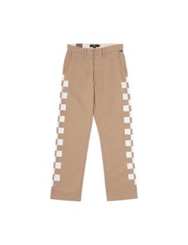 Authentic Chino Pro Pants Khaki Check by Vans