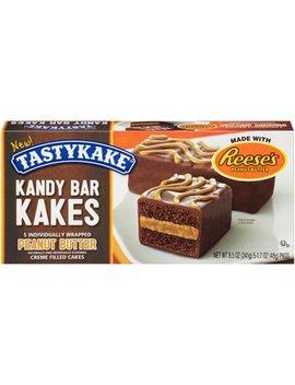 Tasty Kake® Peanut Butter Kandy Bar Kakes 5 1.7 Oz. Packages by Tastykake