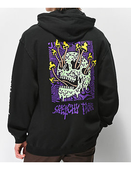 Lurking Class By Sketchy Tank Fungus Color Black Hoodie by Lurking Class By Sketchy Tank