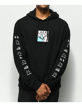 Lakai X Leon Karssen Box Embroidered Black Hoodie by Lakai