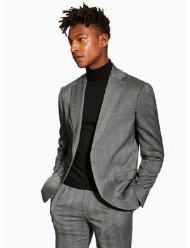 Charcoal Slim Blazer by Topman