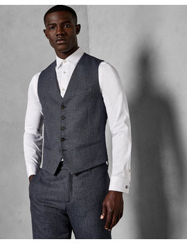 Twill Waistcoat by Ted Baker