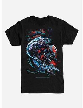 Dc Comics Aquaman Ocean Master & Black Manta T Shirt by Hot Topic