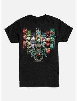 Dc Comics Aquaman Group T Shirt by Hot Topic