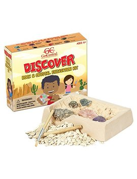 Geo Central Rock And Crystal Excavation Dig Kit by Geo Central
