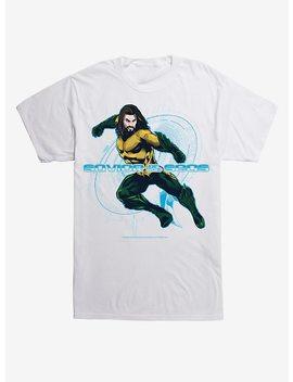 Dc Comics Aquaman Savior Of Seas Symbol T Shirt by Hot Topic