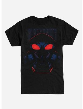 Dc Comics Aquaman Black Manta Headshot T Shirt by Hot Topic