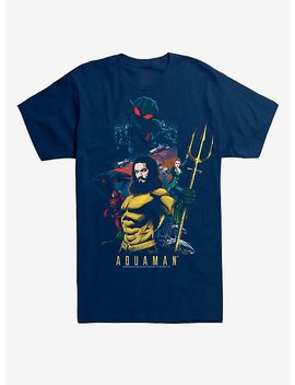 Dc Comics Aquaman Poster T Shirt by Hot Topic