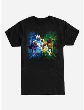 Dc Comics Aquaman Worlds Collide T Shirt by Hot Topic