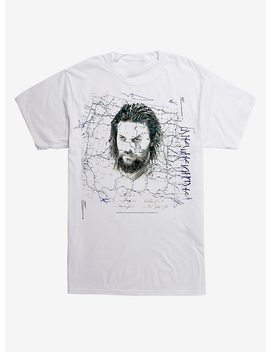Dc Comics Aquaman Face Map T Shirt by Hot Topic