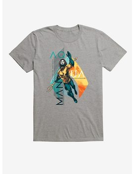 Dc Comics Aquaman And Logo T Shirt by Hot Topic