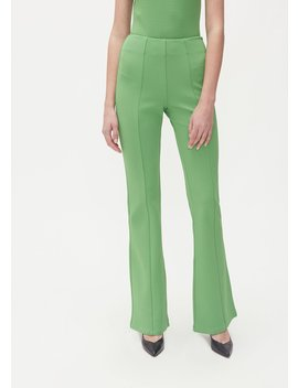 Waistband Fitted Flare Pant by Maison Margiela