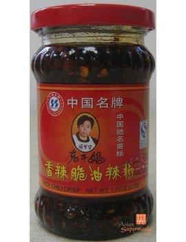Lao Gan Ma Chili Crisp Sauce   (7.410z) by Lkm