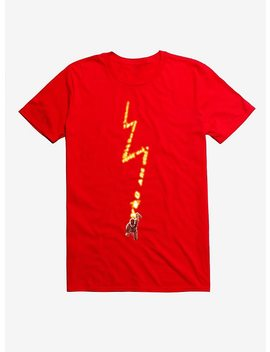 Dc Comics The Flash Word Bolt T Shirt by Hot Topic