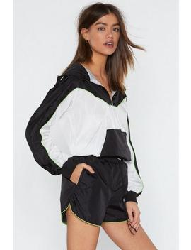 Running Away Piping Shorts by Nasty Gal