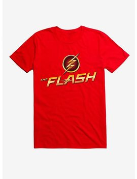 Dc Comics The Flash Logo Red T Shirt by Hot Topic