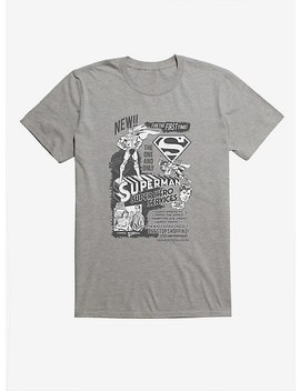 Dc Comics Superman Super Hero Services T Shirt by Hot Topic