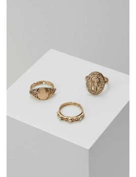 Pretty Western Ring 3 Pack   Ring   Gold by Erase