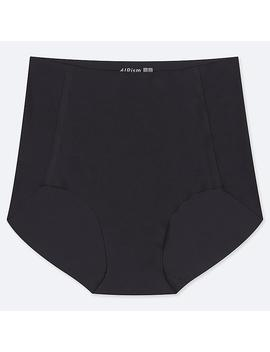 Women Airism High Rise Ultra Seamless Briefs by Uniqlo