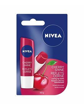 Nivea Cherry Shine Tinted Shimmer Caring Lip Balm Stick, 4.8 G by Amazon