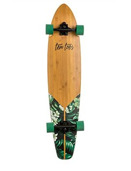 Ten Toes 'adults 2802Green Flora Complete Longboard–44Inch by Amazon