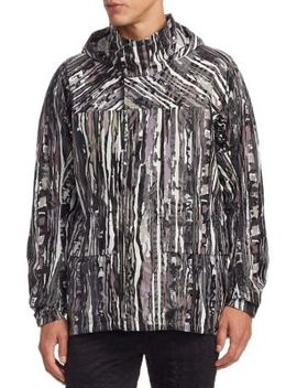 Forest Patterned Jacket by Issey Miyake