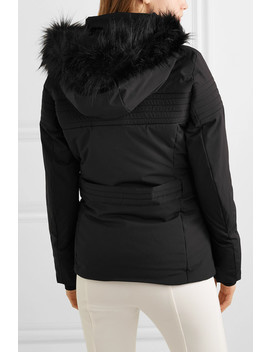 Najy Hooded Quilted Ski Jacket by Fusalp