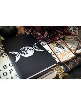 Buch Der Schatten, Skizzenbuch, Notizbuch   Mondphasen by Etsy