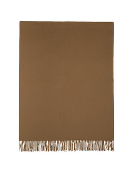 Brown New Canada Scarf by Acne Studios