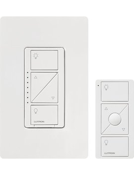 Caseta Wireless Dimmer Switch Kit   White by Lutron