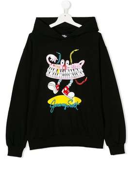Printed Hoodie by Jeremy Scott Junior