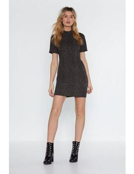 Bodycon H Igh Neck Mini Dress by Nasty Gal