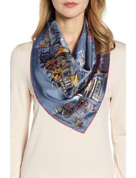 Promenade Silk Scarf by Longchamp