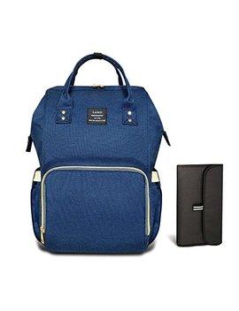 Heyi Diaper Tote Bag   Travel Backpack Organizer, Blue by Pipi Bear