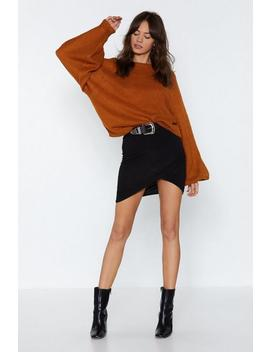 Let's Wrap This Up Mini Skirt by Nasty Gal