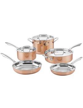 Cuisinart Ctpp 8 Cuisinart Tri Ply Copper Cookware Set (8 Piece) by Cuisinart