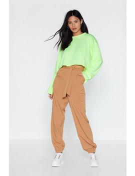 Woven Cargo Trousers by Nasty Gal