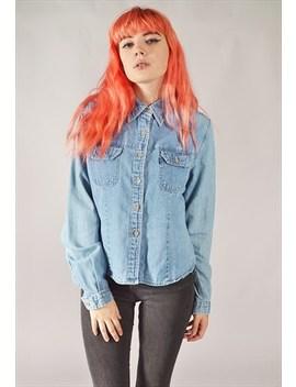 Vintage Levi's Denim Shirt Mid Blue by Levi's